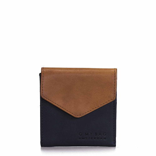 O My Bag Georgie's Wallet Black Cognac