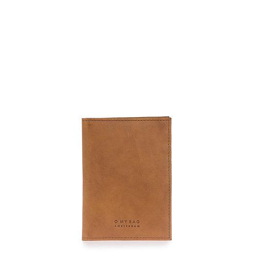 O My Bag Passport Holder Cognac