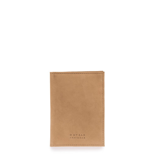 O My Bag Passport Holder Eco Camel