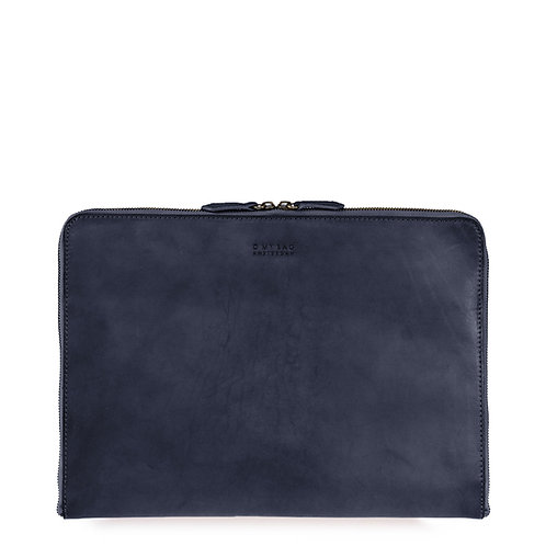 O My Bag Zipper Laptop Sleeve 15'' Navy