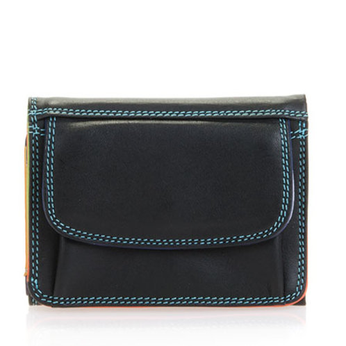 MyWalit Mini Tri-fold Portemonnee Black Pace