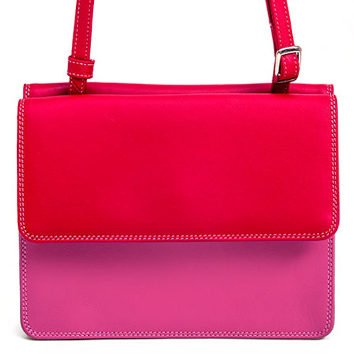 MyWalit Double Flap Organiser Ruby