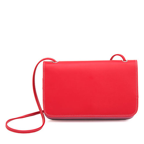 MyWalit Organiser Shoulder Clutch Ruby