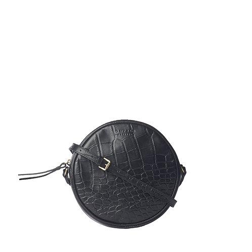 O My Bag Luna Black Croco