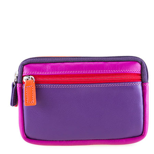 MyWalit Double Zip Purse Sangria Multi