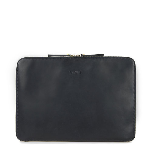 O My Bag Zipper Laptop Sleeve 15'' Black
