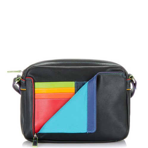 MyWalit Small Organiser Crossbody Black Pace