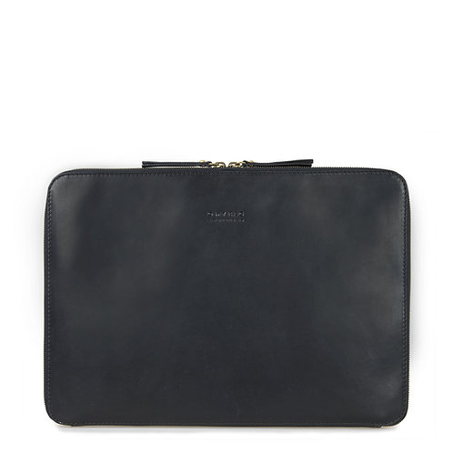 O My Bag Zipper Laptop Sleeve 13'' Black