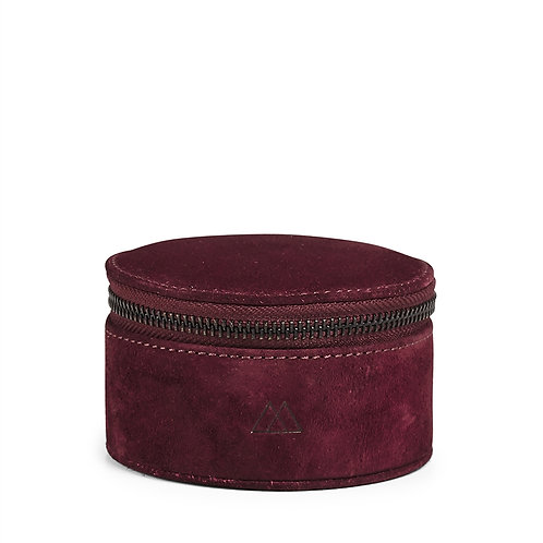 Markberg Lova Jewelry Box Suede Burgundy