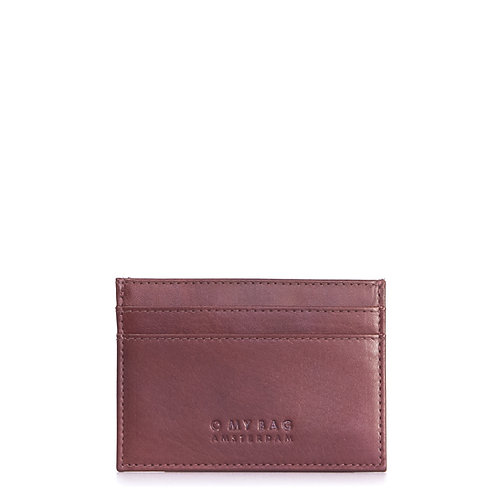 O My Bag Mark's Cardcase Brandy