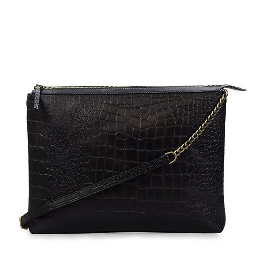 O My Bag Scarlet Black Croco