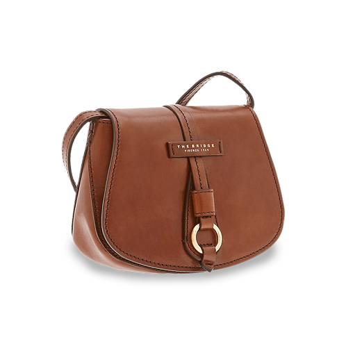 The Bridge Strozzi Crossbody Bruin