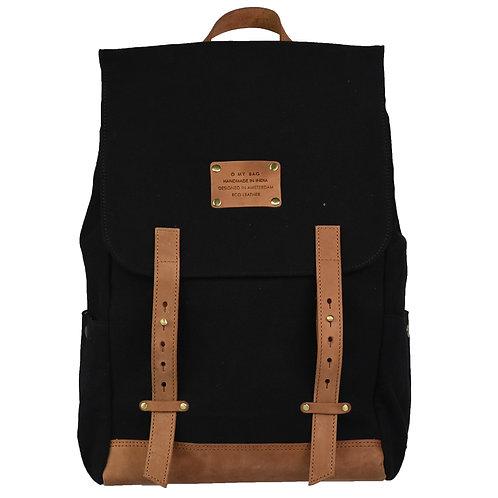 O My Bag Mau's Backpack Black Camel
