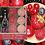 Thumbnail: Tea-lights coloridos com aroma de frutos vermelhos (45 unidades)