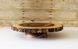 Specialty Wooden Cake Stand