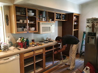 Holland Cabinets Before