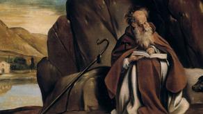 Como Deus falou a S. Antão?