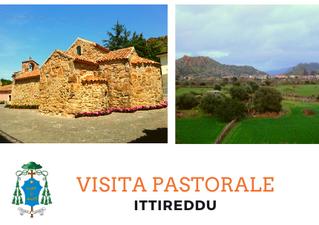 Visita Pastorale a Ittireddu dal 9 al 15 Novembre 2019