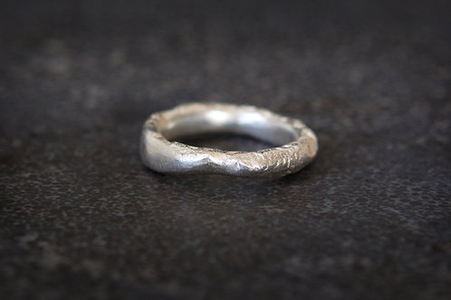 Recycled silverring