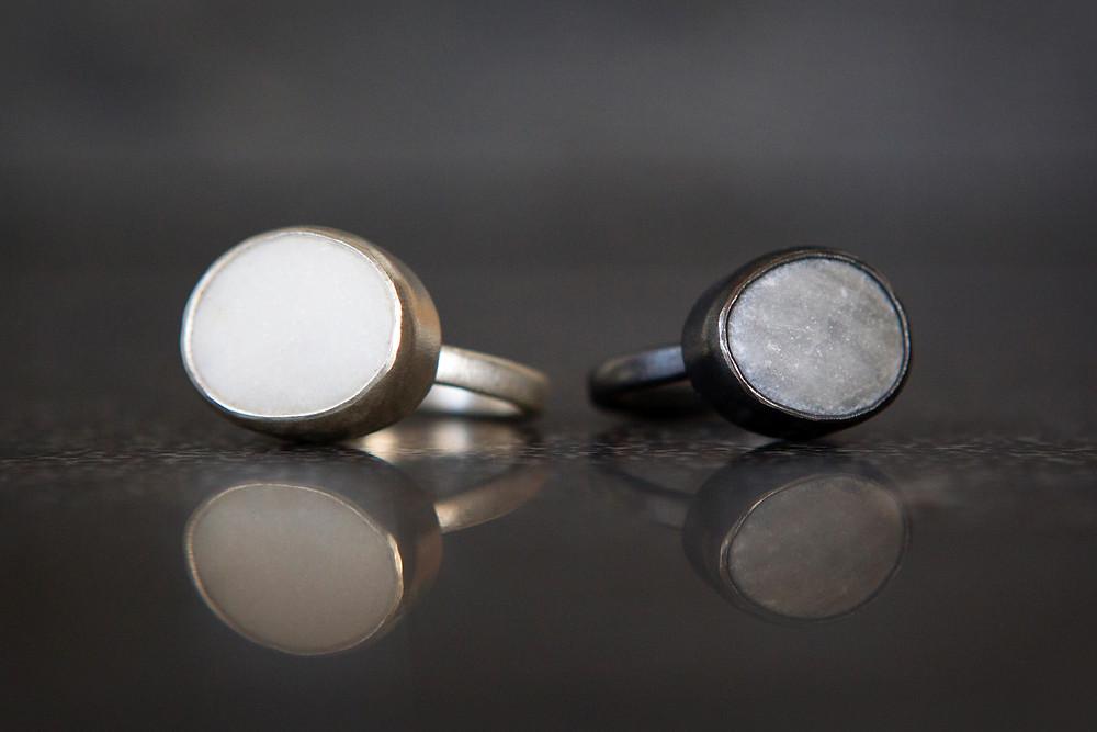 Precious Pebbles rings