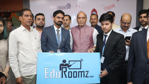 Inaugration of our office by Hon. Home Minister of India, Shri Rajnath Singh at Incubation Centre