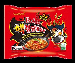 2 * Spicy Extra Hot Ramen Noodle