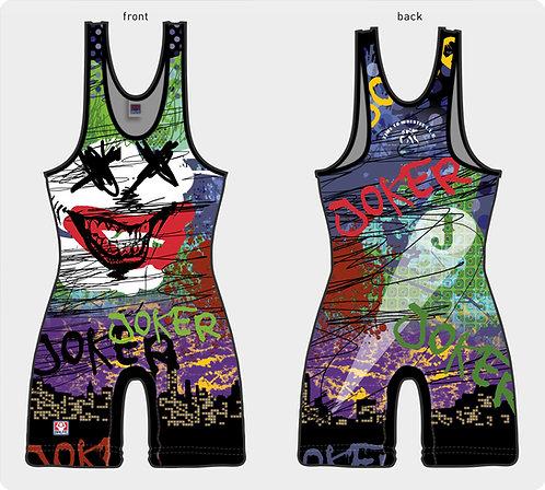 Time To Wrestle - Wrestling Joker Singlet - Made in USA - Singlet - Wrestling Uniform
