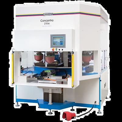 Machine de tampographie 4 à 6 couleurs Tampoprint Concentra 210