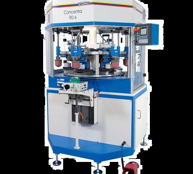 Machine de tampographie 4 à 6 couleurs Tampoprint Concentra