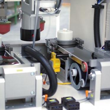 Machine de tampographie lase 2 couleurs Tampoprint Hybrid intérieur