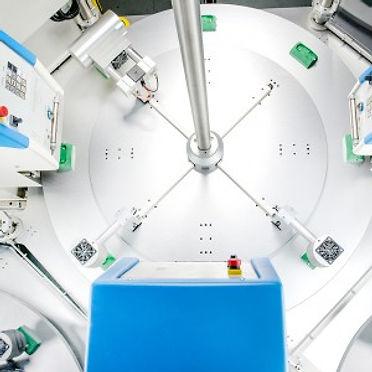 Machine de tampographie automatique Tampoprint Module One M vue plateau