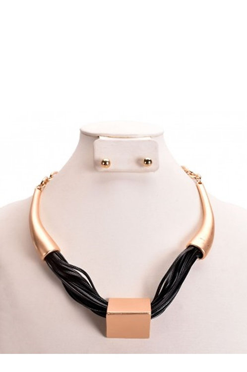 Hipster Metal Necklace Set 127
