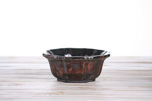 Copper Reduction Special Edition Flower pot No.4 17 x 6.5cm
