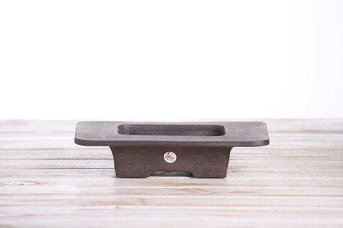 Handmade unique Low Profile Extended Rim 21 x 15 x 4.5cm