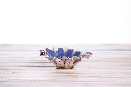 Handmade unique Flower Pot 15 x 4.5cm