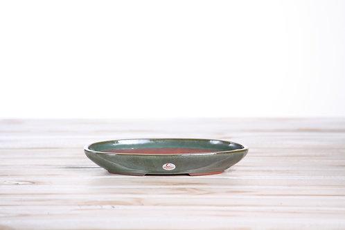 Oval T XSmall 17.5 x 12 x 2.5cm Seaweed