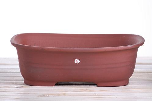Rectangle Belt Pot Large Unglazed 37 x 27 x 11cm