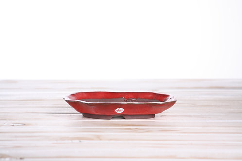 Wiggly Accent 18 x 13 x 3cm Red