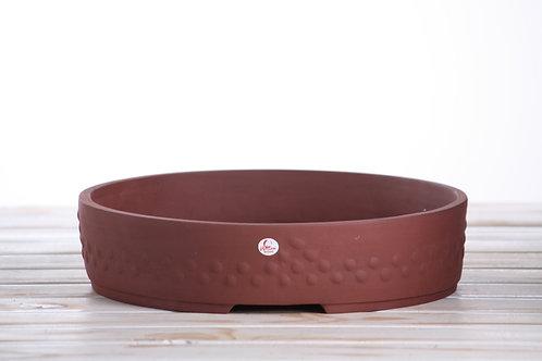 Drum medium - A unglazed 27cm x 6.5cm