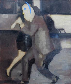 Dance, 2018, Oil on canvas, 46 x 65cm.