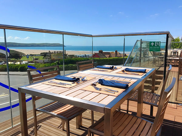 Brundle's Woolacombe decking area.JPG