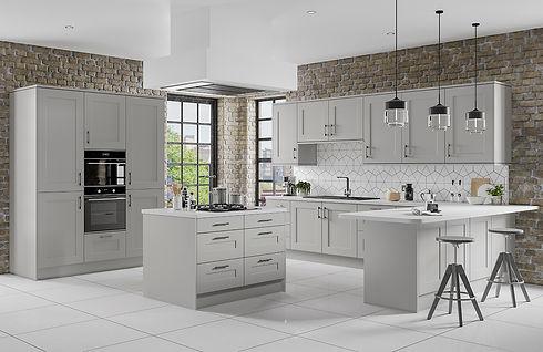 Stone Street Developments Kitchen Caton Grey Mist Lancaster