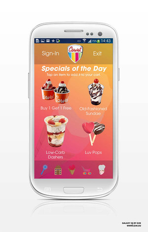 Carvel Mobile App