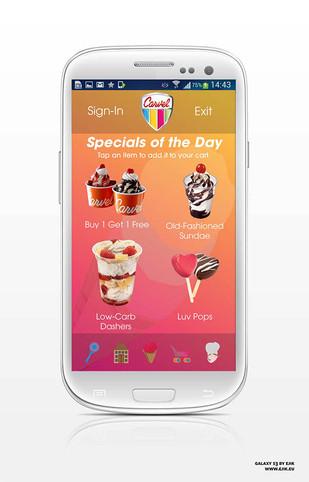 Carvel Mobile App