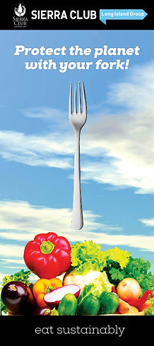 Protect the planet with your fork!