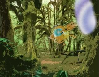 Corpescope - Landing scene