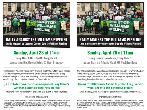 Williams Pipeline Rally