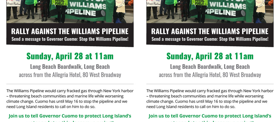 Williams Pipeline Rally