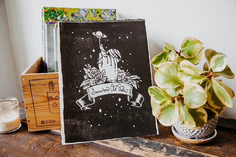 Somewhere Out There Lithography Print