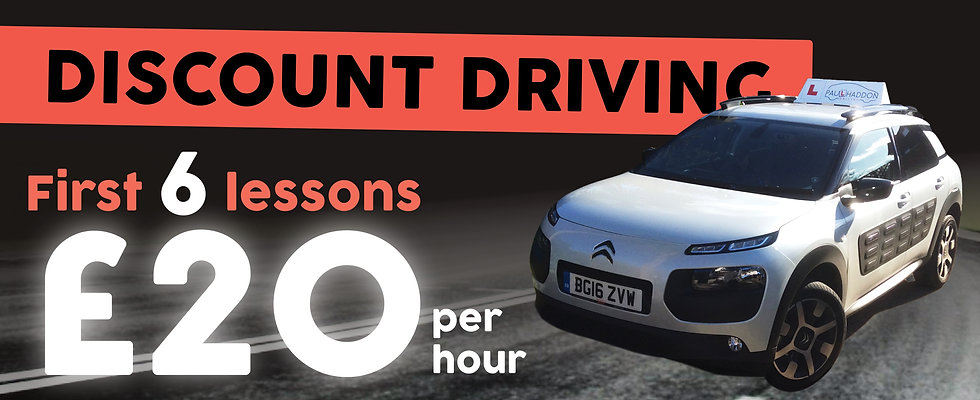 Driving lessons offer Bude